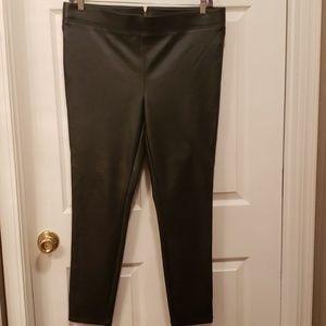 LOFT faux leather leggings